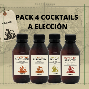 Pack 4 cocktails